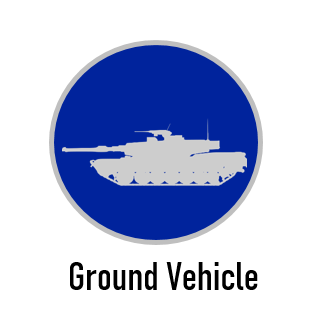 Ground Vehicle Application Icon